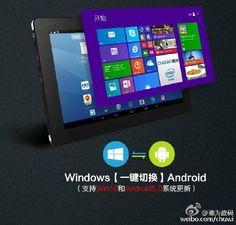 Interesante: Chuwi Vi10, una tablet dual boot de 10.6 pulgadas