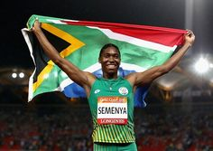 Caster Semenya will bid to move the spotlight from new IAAF rules for female athletes who have high testosterone levels firmly back to the track as the Diamond League gets underway in Doha on Friday. Caster Semenya, High Testosterone, Bra Pattern, Childhood Obesity, Sports Wallpapers, Sport Body, Other Woman, Kids Nutrition, Female Athletes