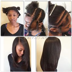 Sew-Ins that look just like your own real hair ...