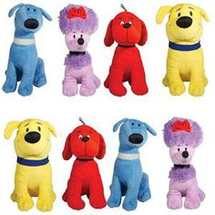 Clifford and Friends Jumbo Plush Mix 48 pc