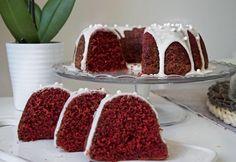 Vörös bársony kuglóf Ring Cake, Scones, Tiramisu, Raspberry, Pudding, Fruit, Eat, Ethnic Recipes, Food