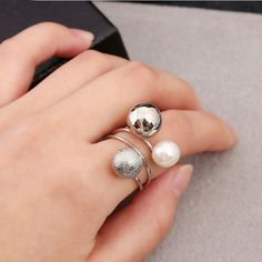 Cute Lovely Girls Simulated Pearl Rings  Price: & FREE Shipping  #fashion #womensfashion #happy #style #nature #animals #girls #beauty #love #womens #flowers #babies