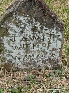 Tombstone Tuesday - Quincy Jane Boyd McCoy #genealogy