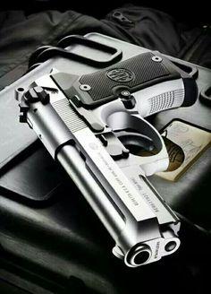 Beretta 92FS Compact semi-automatic pistol #gun #pistol #cool