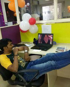 I ❤ #My13thCompany My Desk My Laptop