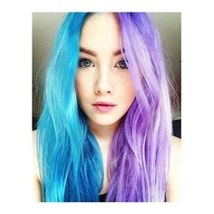 Purple hair ❤ liked on Polyvore featuring accessories, hair accessories, hair and purple hair accessories