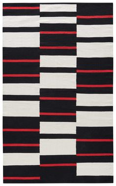 National Geographic Cotton Flatweave African Geometric Rug