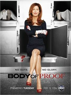 Body Of Proof - can't believe they cancelled this. Only thing to watch on their network.