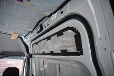 Insulating the Van — The Vanimals Rigid Foam Insulation, Fiberglass Insulation, Best Insulation, Radiant Barrier, Sprinter Camper, Metal Floor, Campervan Interior