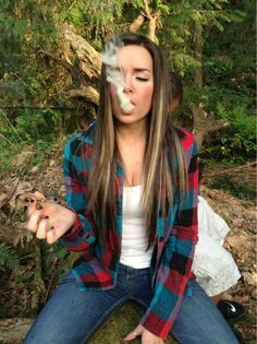 Hot girl smoking weed and fucking, hunk flash