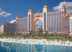 """""""Atlantis"""" es un centro turístico muy lujoso en las Bahamas."""