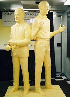 Скульптуры из масла Джима Виктора (23 фото)