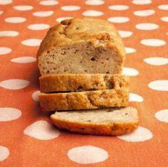 Happy National Banana bread day!   replace greek yogurt w/ pumpkin to make it dairy free