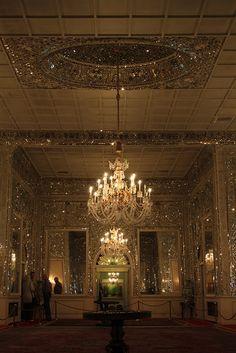 Mirror's Hall, Niavaran Palace, Tehran, Iran.