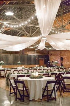 Winter Tennessee Warehouse Wedding