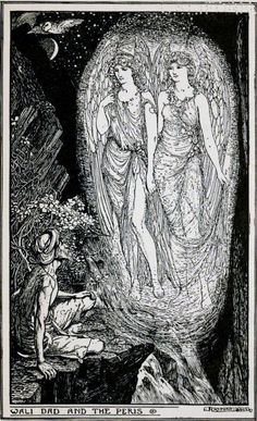 Story of Wali Dad the Simple-hearted - The Brown Fairy Book by Andrew Lang, 1904