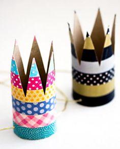 Festa infantil com coroas reais para as crianças | Vila do Artesão