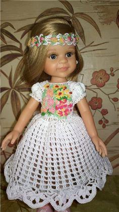 """Платье ,, Праздничное"""". Для кукол 31-34см. Цена снижена - 1300( с пересылкой) временно. / Одежда для кукол / Шопик. Продать купить куклу / Бэйбики. Куклы фото. Одежда для кукол"""