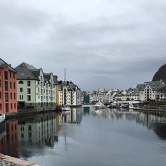 Alesund Norway Waterway