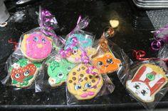 Shopkins cookies 12 by Ladybugcakesdotcom on Etsy