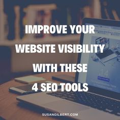 Improve Your Website Visibility with These 4 SEO Tools | Susan Gilbert | Reinvention Guide - Let's Pivot Your Zone of Genius! Seo Optimization, Search Engine Optimization, Work On Yourself, Improve Yourself, Search Tool, Seo Tools, Seo Strategy, Your Website, Digital Marketing