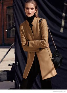Mirte Maas in Urban Style for Massimo Dutti by Hunter & Gatti