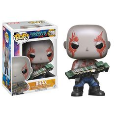 Funko Guardians Of The Galaxy 2 POP Drax Bobble Head Figure