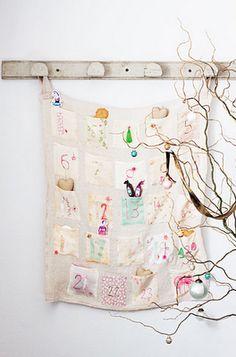 sweet handmade advent calendar