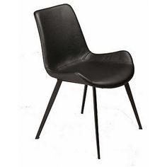 Hype Matstol Svart med svarta ben :: Matbord och stolar, Matbord och stolar > Matstolar och Stolar