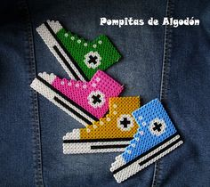 Colgante ALL STAR by ♥ Pompitas de Algodón ♥, via Flickr