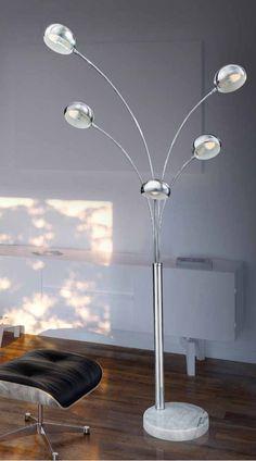 Lampa podłogowa Palp Economic AZzardo JMF-082S