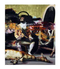"Street art ""Dead Meat"" by Conor Harrington Graffiti Painting, Graffiti Art, Traditional Paintings, Contemporary Paintings, Portfolio D'art, Urbane Kunst, Best Street Art, Culture, Street Artists"