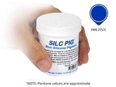 SILC-PIG/1 blau Pantone, Color, Silicone Rubber, Blue, Colour, Colors