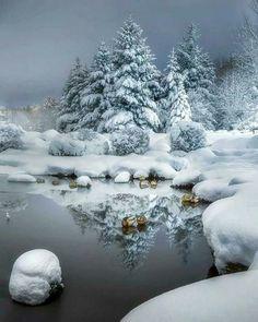 Winter Szenen, I Love Winter, Winter Magic, Winter Christmas, Winter White, Magical Christmas, Christmas Morning, Foto Picture, Photo D Art