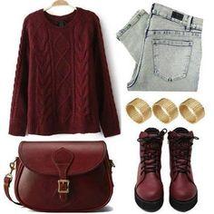 5 Maneras de combinar un suéter con un boyfriend jeans ¡Súper chic! #Outfits