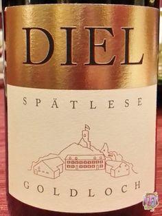 Schlossgut Diel Dorsheimer Goldloch Riesling Spatlese 2012  #SchlossgutDiel #Goldloch #Riesling #Spatlese #GermanWine #WhiteWine #Wine