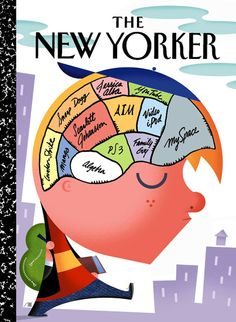 Cover of The New Yorker TEENAGER'S BRAIN