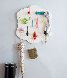 Love this for hanging keys, etc....