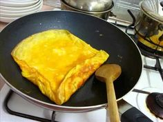Yummers roled omelet. Convenient sized for lunch boxes for kids or for work
