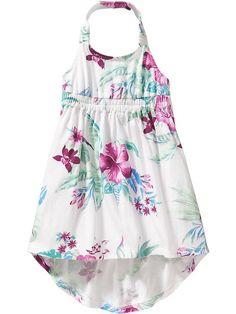 Halter Floral Dresses for Baby