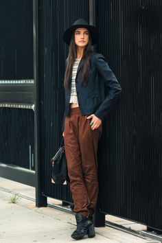 Jacquelyn Jablonski. I'm absolutely in love with her outfit.
