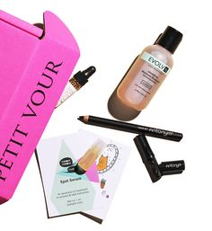 The Monthly Box – Petit Vour Catering to beauty devotees interested in living a more compassionate lifestyle, Petit Vour delivers fresh beauty miniatures—culled from beauty's kindest—right to your doorstep each month.
