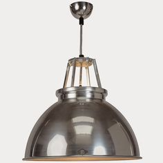 Industrial Metal Ceiling Light BTC Peter Bowles