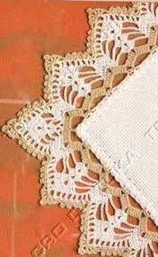 My Work: Crochet Edging. Filomena Crochet e Outros Lavo This Pin was discovered by Nai Learn to Crochet – Crochet Wave Fan Edging. Crochet Boarders, Crochet Blanket Edging, Crochet Edging Patterns, Crochet Lace Edging, Filet Crochet, Crochet Designs, Crochet Doilies, Crochet Hooks, Diy Crafts Crochet