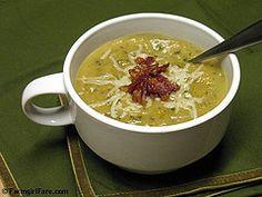 Roasted Leek and Potato Soup with Arugula (2) by Farmgirl Susan, via Flickr