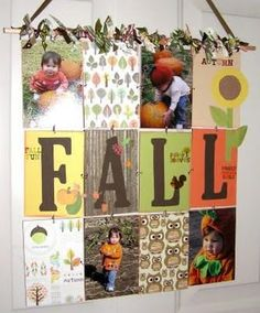 Fall wall hanger by Katie's Nesting Spot