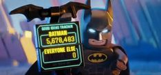 Watch The LEGO Batman Movie TV spots to find out just how many good ideas LEGO Batman has had when you compare the numbers to everyone else. Lego Batman Movie, Batman Party, Geek Room, Will Arnett, Batman Family, Original Movie, Box Office, The Flash, Cupcake Recipes