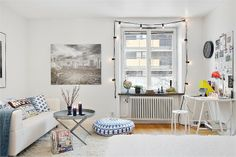 A first apartment in Stockholm