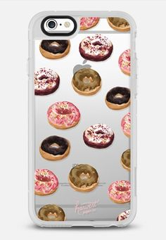 Doughnuts Foodie Transparent Dessert Food Case iPhone 6s Case by Harvest Paper…