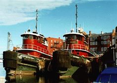 Tug boats in Portsmouth, NH